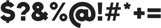 Bambino New Black otf (900) Font OTHER CHARS