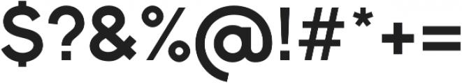 Bambino New Bold otf (700) Font OTHER CHARS