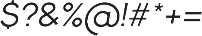 Bambino New RegularItalic otf (400) Font OTHER CHARS