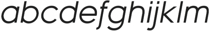 Bambino New RegularItalic otf (400) Font LOWERCASE