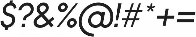 Bambino Regular Italic otf (400) Font OTHER CHARS