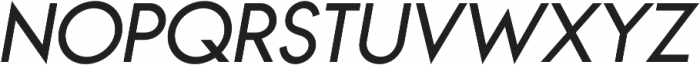 Bambino Regular Italic otf (400) Font UPPERCASE