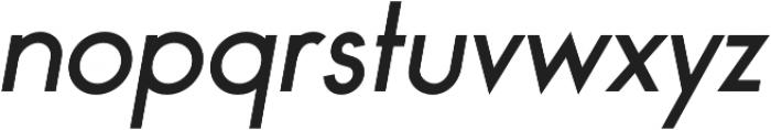 Bambino Regular Italic otf (400) Font LOWERCASE