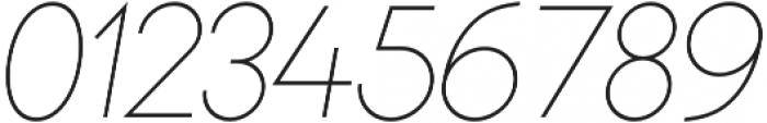 Bambino Thin Italic otf (100) Font OTHER CHARS