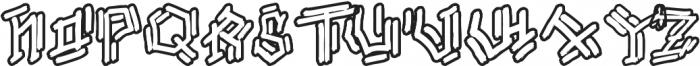 Bamboe Hutan otf (400) Font UPPERCASE