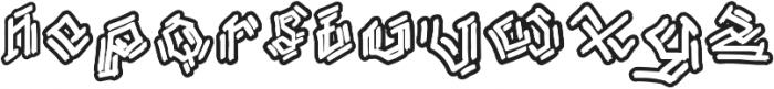 Bamboe Hutan otf (400) Font LOWERCASE