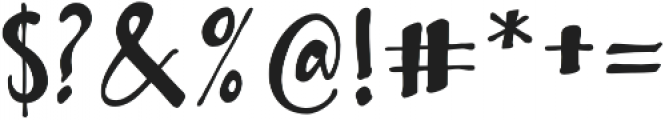 Bambusa Pro Basic otf (400) Font OTHER CHARS