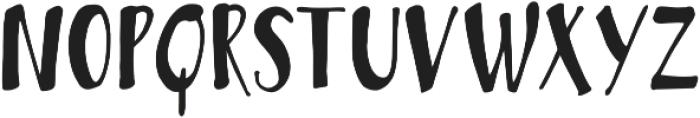 Bambusa Pro Basic otf (400) Font UPPERCASE