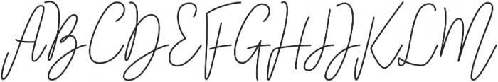 Bampton otf (400) Font UPPERCASE
