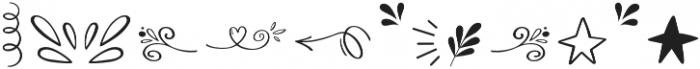 Bananito Symbols otf (400) Font UPPERCASE