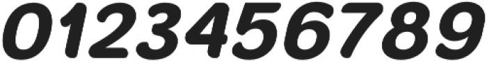Banda Niera Bold Italic otf (700) Font OTHER CHARS