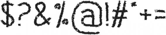 Banda otf (400) Font OTHER CHARS