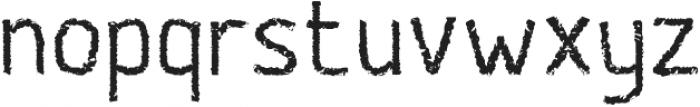 Banda otf (400) Font LOWERCASE