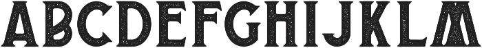 Banderas Serif Stamped otf (400) Font UPPERCASE
