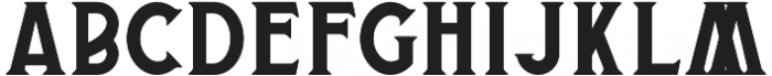 Banderas Serif otf (400) Font UPPERCASE