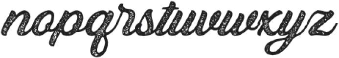 Bandira Script Rough otf (400) Font LOWERCASE