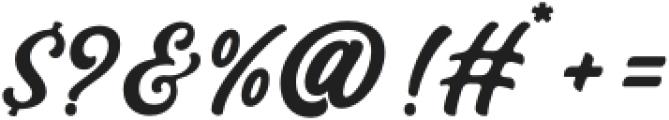Bandira Script otf (400) Font OTHER CHARS