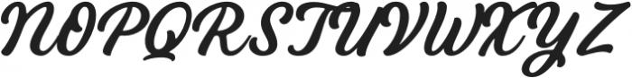 Bandira Script otf (400) Font UPPERCASE