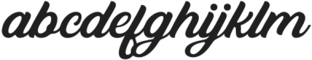 Bandira Script otf (400) Font LOWERCASE