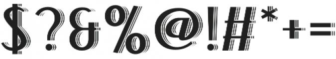 Bandoengsche Deco otf (400) Font OTHER CHARS