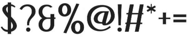 Bandoengsche otf (400) Font OTHER CHARS