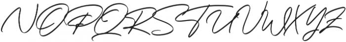 Bandung Signature Alt otf (400) Font UPPERCASE