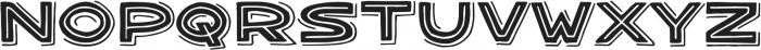 Bangarang Double ttf (400) Font UPPERCASE