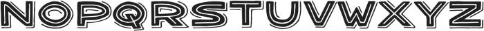 Bangarang Double ttf (400) Font LOWERCASE