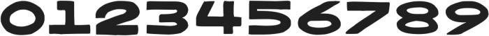 Bangarang Regular ttf (400) Font OTHER CHARS