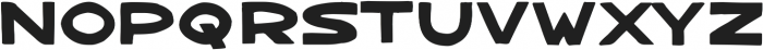 Bangarang Regular ttf (400) Font UPPERCASE
