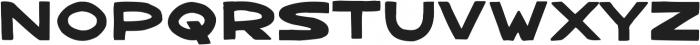 Bangarang Regular ttf (400) Font LOWERCASE