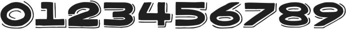 Bangarang Shadow ttf (400) Font OTHER CHARS
