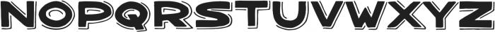 Bangarang Shadow ttf (400) Font UPPERCASE