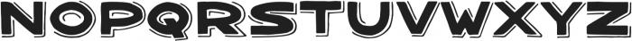 Bangarang Shadow ttf (400) Font LOWERCASE