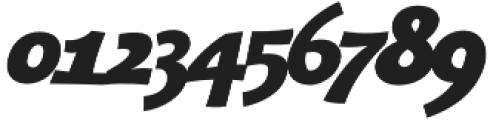 Bangbang Bold Italic otf (700) Font OTHER CHARS