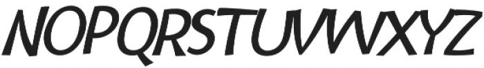 Bangbang Italic otf (400) Font UPPERCASE