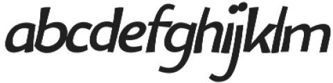 Bangbang Italic otf (400) Font LOWERCASE