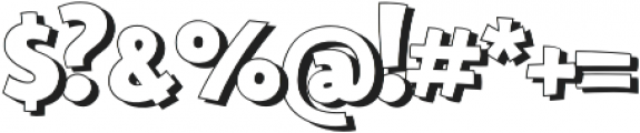 Bangbang Outline otf (400) Font OTHER CHARS
