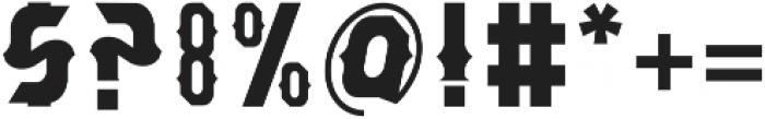 Bangkawarah otf (400) Font OTHER CHARS