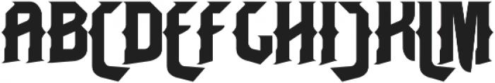 Bangkawarah otf (400) Font UPPERCASE