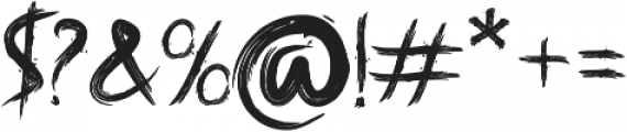 Banis otf (400) Font OTHER CHARS