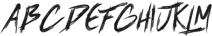 Banis otf (400) Font UPPERCASE