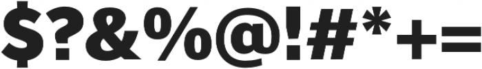 Banjax Lite Black otf (900) Font OTHER CHARS