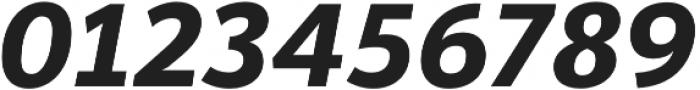 Banjax Lite Bold Italic otf (700) Font OTHER CHARS
