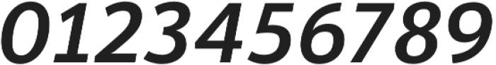 Banjax Lite Medium Italic otf (500) Font OTHER CHARS