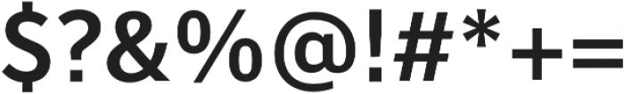 Banjax Lite Medium otf (500) Font OTHER CHARS