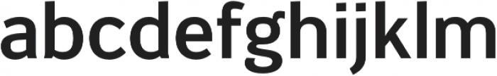 Banjax Lite Medium otf (500) Font LOWERCASE