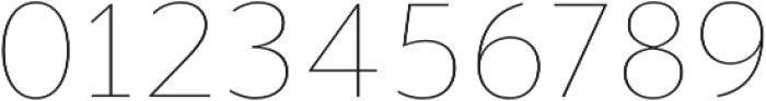Banjax Lite Thin otf (100) Font OTHER CHARS