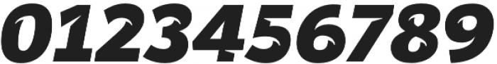 Banjax Notched Black Italic otf (900) Font OTHER CHARS