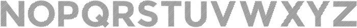 BankNue Lined otf (400) Font LOWERCASE